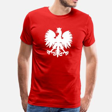Polish Flag polish eagle - Men's Premium T-Shirt