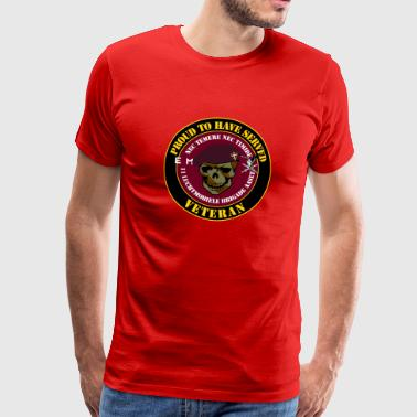 Proud to have served Veteran Stoottroepen - Mannen Premium T-shirt