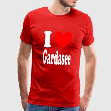 I love Lake Garda - Men's Premium T-Shirt