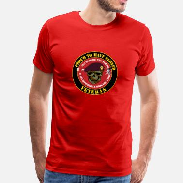 Luchtmobiele Brigade Veteraan Proud to have served Veteran Grenadiers - Mannen Premium T-shirt
