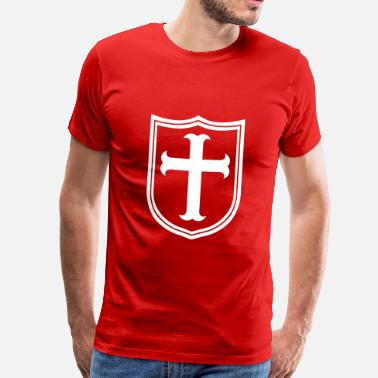 Knights Templar templar knight - Men's Premium T-Shirt