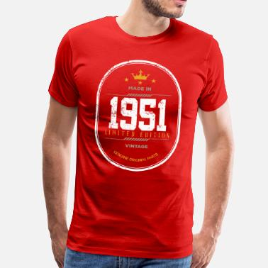 1951 Made in 1951 édition limitée - T-shirt Premium Homme