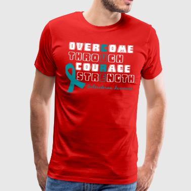 Scleroderma Awareness! Overcome to find a Cure! - Men's Premium T-Shirt