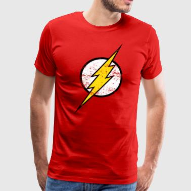 The Flash Logo vintage - T-shirt Premium Homme