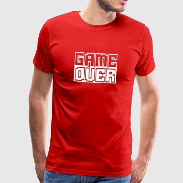 game over II - Premium-T-shirt herr