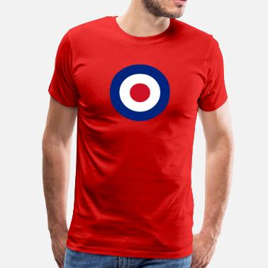 Royal Air Force Target (Mod)  - Männer Premium T-Shirt