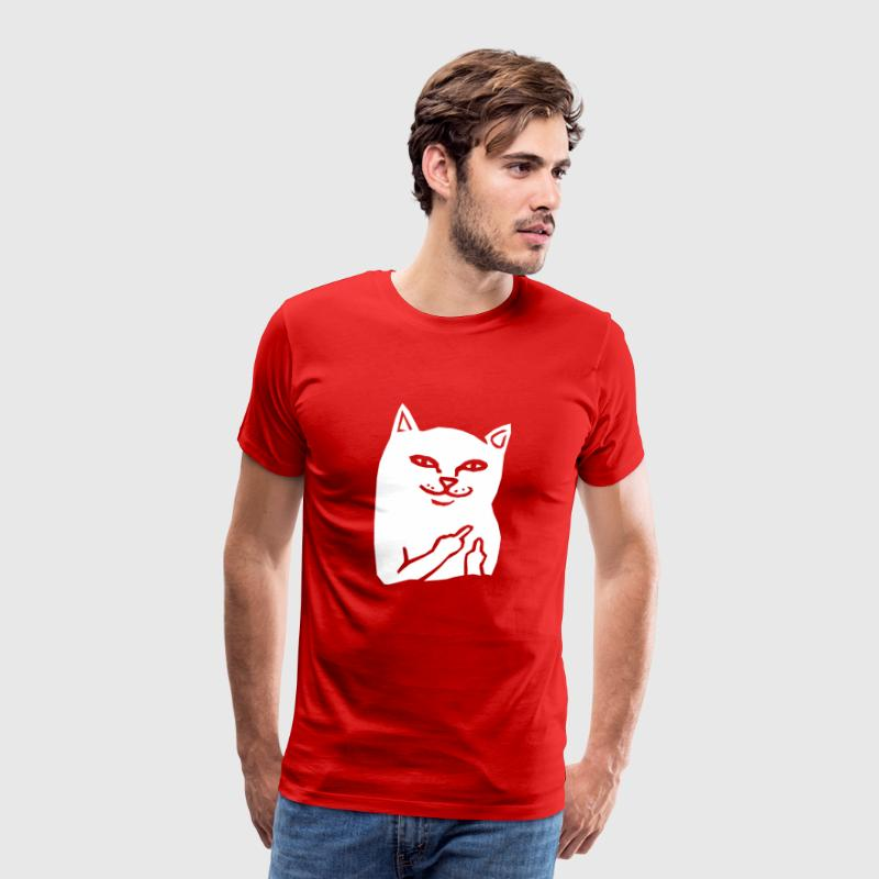 Fuck You Cat - Mannen Premium T-shirt