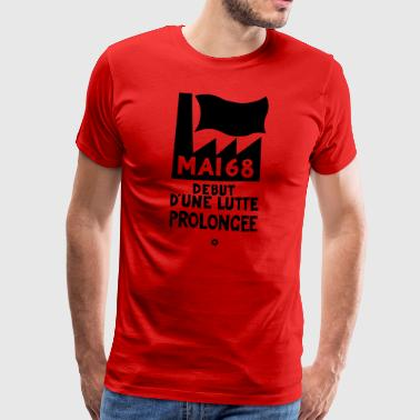 May 68, beginning of a prolonged struggle - Men's Premium T-Shirt