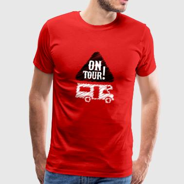 Camping - on tour! - Premium-T-shirt herr