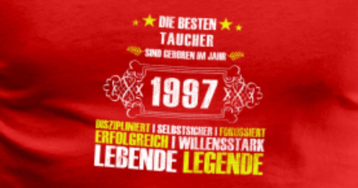 Geschenk zum 20 geburtstag f r taucher t shirt spreadshirt - Geschenke zum 85 geburtstag ...