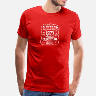Premium Vintage 1977 Aged To Perfection Vintage 1977 Aged to Perfection - Men's Premium T-Shirt