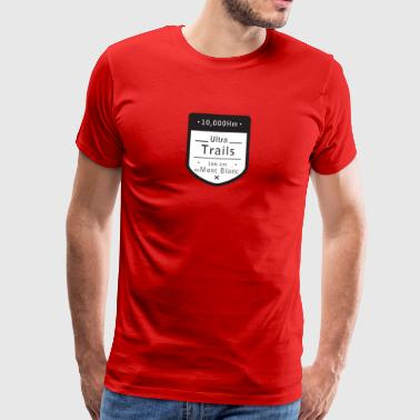 Ultra Trails mont blanc t shirt - Men's Premium T-Shirt