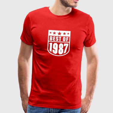 Best of 1987 - Men's Premium T-Shirt