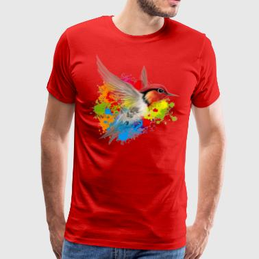 colibri friend logo - Men's Premium T-Shirt