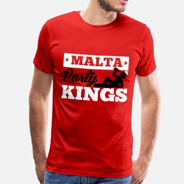 Party King MALTA PARTY KINGS - Männer Premium T-Shirt