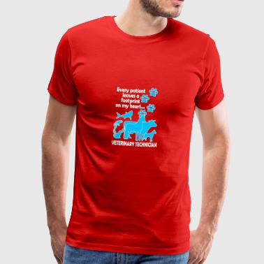 Veterinary Technician - Mannen Premium T-shirt
