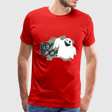 Ghosts - Hey Boo! - Herre premium T-shirt