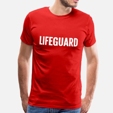 Baywatch Lifeguard template - Men's Premium T-Shirt