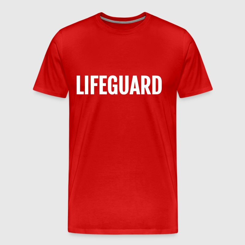 Lifeguard template - Men's Premium T-Shirt
