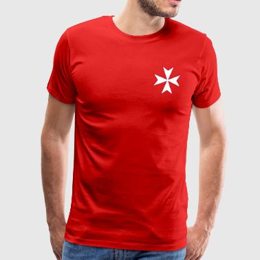 Maltese Cross - Männer Premium T-Shirt