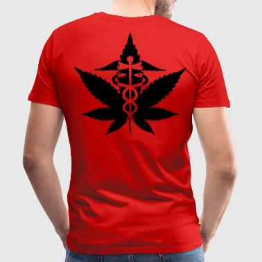 Hemp crosier | Medical Marijuana - Men's Premium T-Shirt