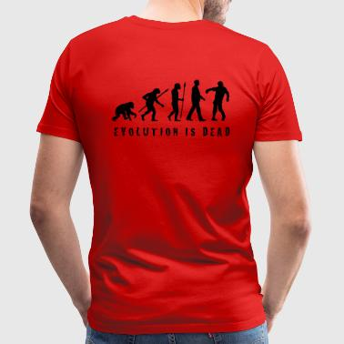 evolution_of_man_zombie_102013_b_1c - Männer Premium T-Shirt