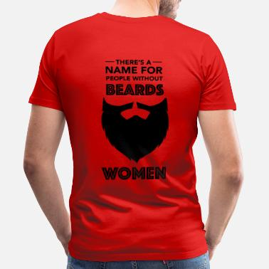Beard Beards - Mannen Premium T-shirt