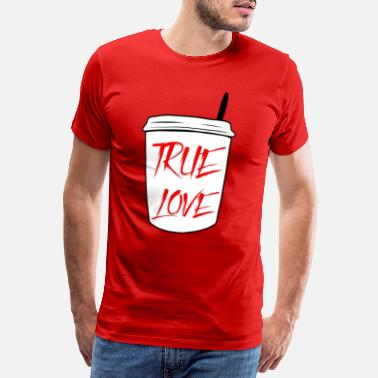 Cafe Coffee shirt - office coffee mug - gift - Men's Premium T-Shirt
