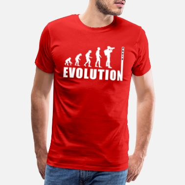 Slr EVOLUTION PHOTOGRAPH - Men's Premium T-Shirt