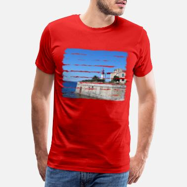 Corsica Ajaccio, the capital of the island of Corsica - Men's Premium T-Shirt
