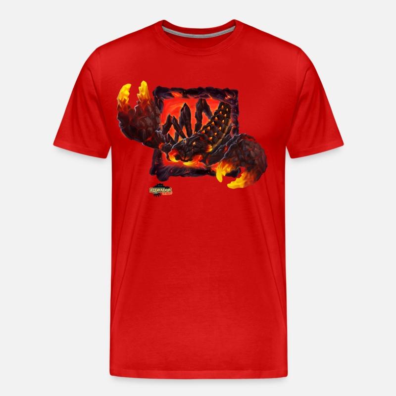Homme pierre roche king taille plus imprimé t-shirt vintage tailles 3XL-5XL big