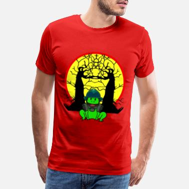 Destruction Frog Pollution Co2 Carbon Dioxide Climate - Men's Premium T-Shirt