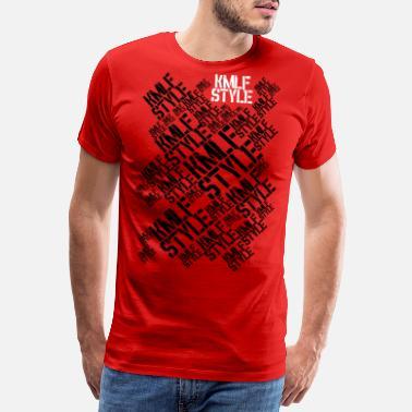 162166339fd5 Långa KMLF-style-grafik lång - Premium T-shirt herr