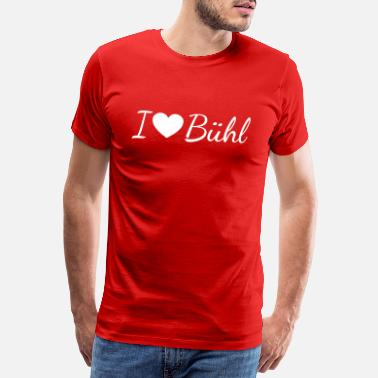 Black Forest I love Bühl - Men's Premium T-Shirt