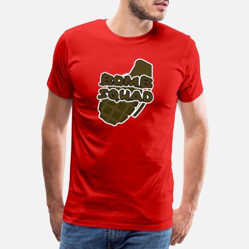 d7912e4a Military / Soldiers: Bomb Squad Men's Premium T-Shirt | Spreadshirt
