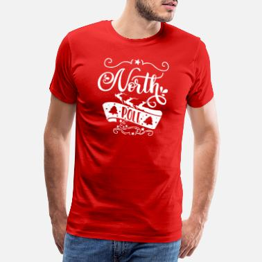 North Yorkshire North Pole white - Männer Premium T-Shirt