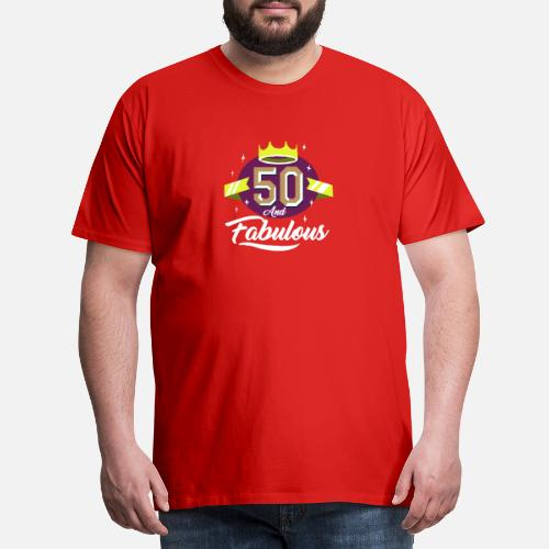 Mens Premium T Shirt50th Birthday Gift