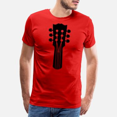 Punk Rock guitar - Men's Premium T-Shirt