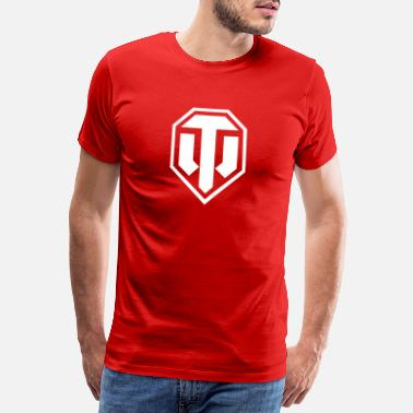Officialbrands World of Tanks Logo - Maglietta Premium da uomo