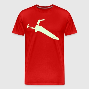 needle - Men's Premium T-Shirt