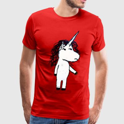 Angry unicorn - Men's Premium T-Shirt
