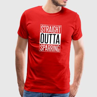 Straight outta sparring - Men's Premium T-Shirt