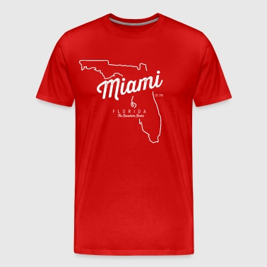 Miami Florida - Men's Premium T-Shirt