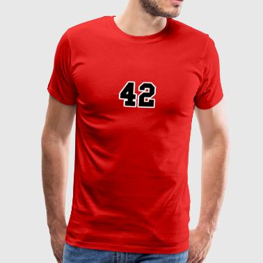 42 college simple - T-shirt Premium Homme