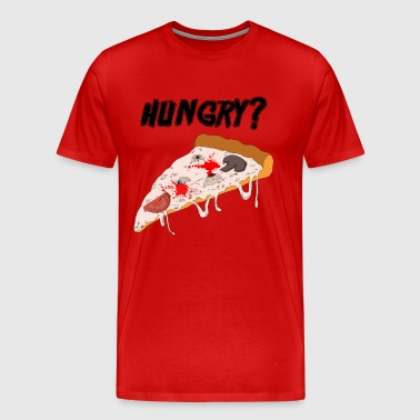 Horror pizza - Men's Premium T-Shirt