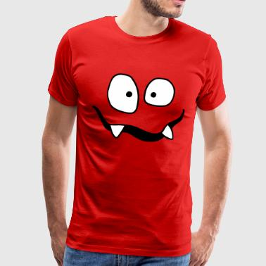 Monsterchen monster face for kids shirt child - Men's Premium T-Shirt