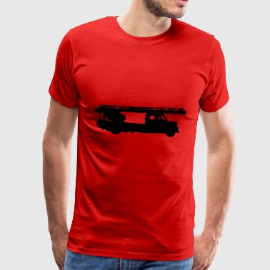 Aerial ladder fire department - Men's Premium T-Shirt