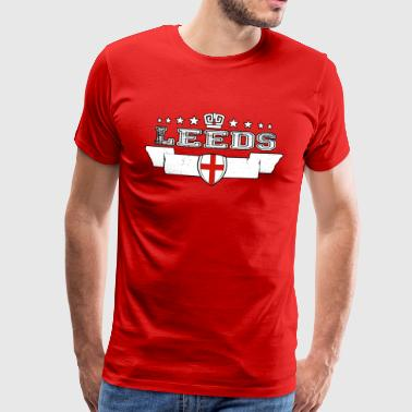 leeds - Men's Premium T-Shirt