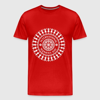 International Women's Day Mandala T-Shirt - Men's Premium T-Shirt