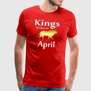 april - Mannen Premium T-shirt